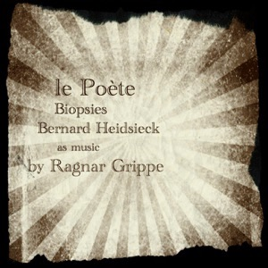 cover album le Poète with Bernard Heidsieck